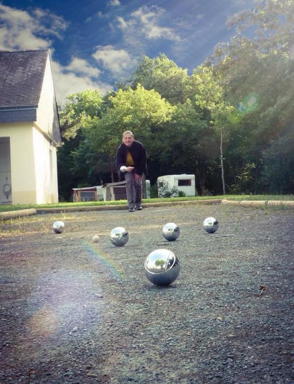 Terrain boules